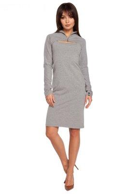 B008 sukienka szara