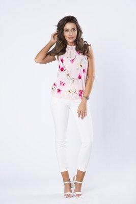 Bluzka w kwiatowy wzór M66745_1