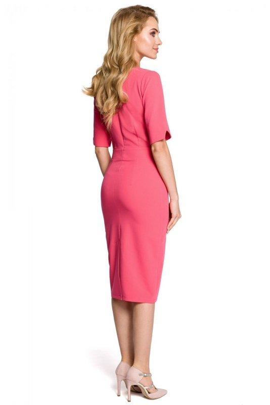 M310 Sukienka różowa