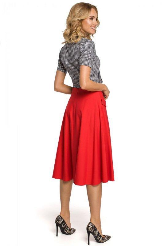 M321 Spódnica czerwona