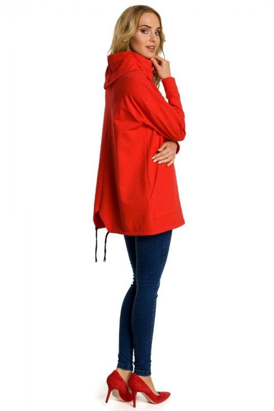 M344 Bluza czerwona