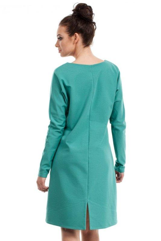 B012 sukienka zielona