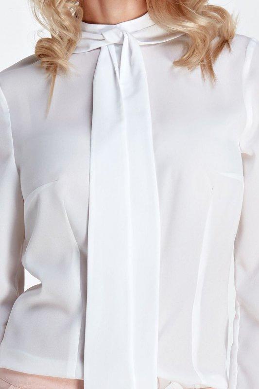 Bluzka z fontaziem - ecru - CB05