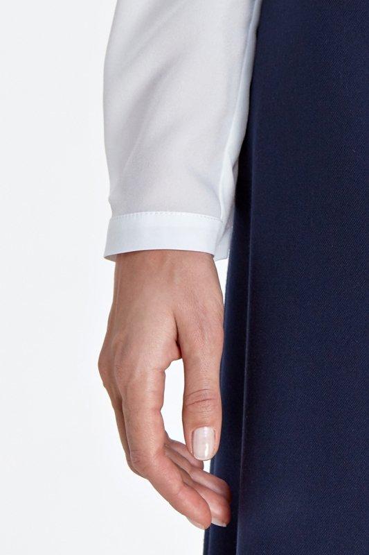 Klasyczna bluzka - ecru - CB02
