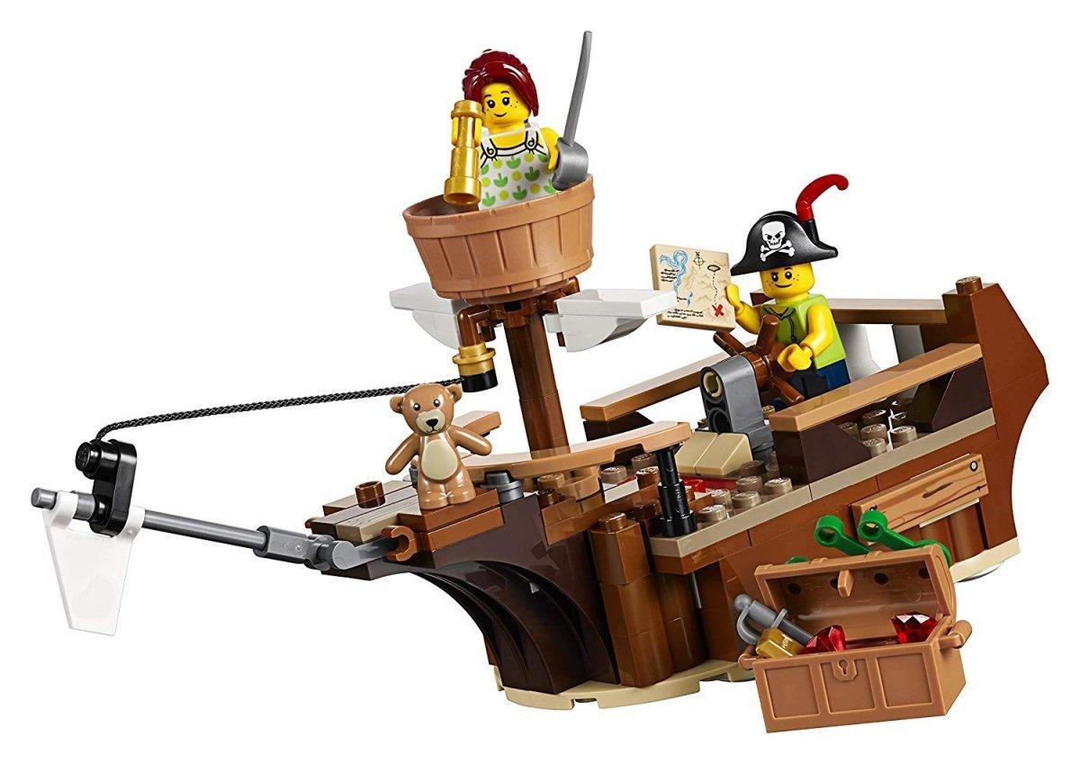 Lego Creator 31078 Skarby Domku Na Drzewie 3w1 Klocki Dla