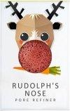 Gąbka Konjac MINI Renifer Rudolf z czerwoną glinką do cery suchej i naczynkowej
