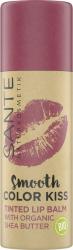 Sante Naturkosmetik Koloryzujący balsam do ust 02 SOFT RED / delikatna czerwień