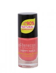 Benecos Lakier do paznokci FLAMINGO 5 ml