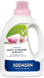 Sodasan - Płyn do płukania tkanin o zapachu magnolii 750 ml.