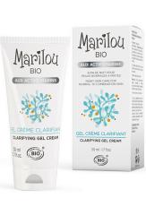 Marilou Bio Rozjaśniający żel - krem na noc do cery normalnej i mieszanej 50 ml.