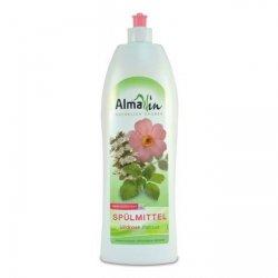 AlmaWin Płyn do mycia naczyń Dzika róża i melisa 1 litr