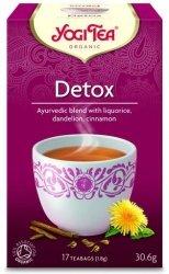 YOGI TEA® Herbata OCZYSZCZAJĄCA z lukrecją, mniszkiem i anyżem (Detox)