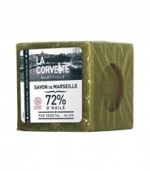 LA CORVETTE Mydło marsylskie 72% oliwy z oliwek 300 g