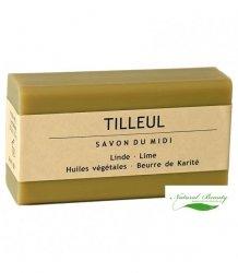 SAVON DU MIDI Prowansalskie mydło z masłem karité TILLEUL / kwiat lipy.