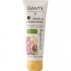 Sante naturkosmetik  Ultra odżywczy krem do rąk i paznokci z bio-miechunką