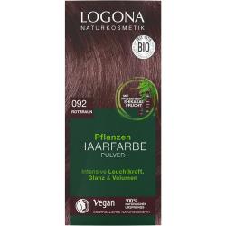 Logona Roślinna farba do włosów w proszku czerwony brąz 092