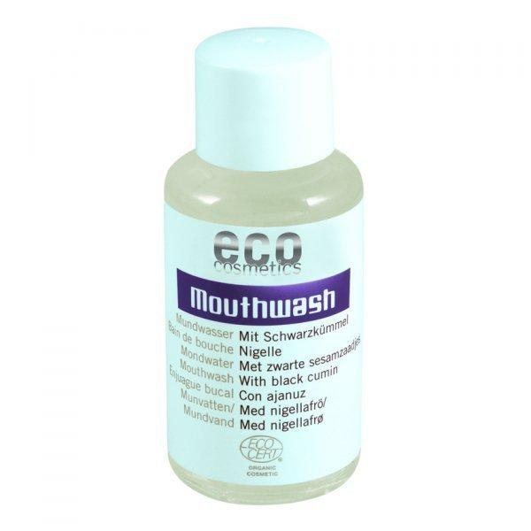 Eco cosmetics Płyn do płukania jamy ustnej z czarnuszką, 50 ml