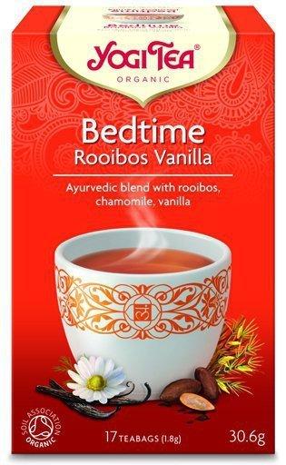 YOGI TEA Herbata Na sen rooibos wanilia BEDTIME ROOIBOS VANILLA