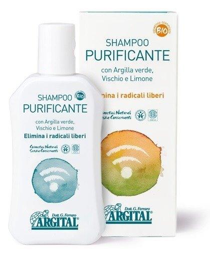 Argital Szampon oczyszczający o działaniu antyrodnikowym przeciw wypadaniu włosów 250 ml