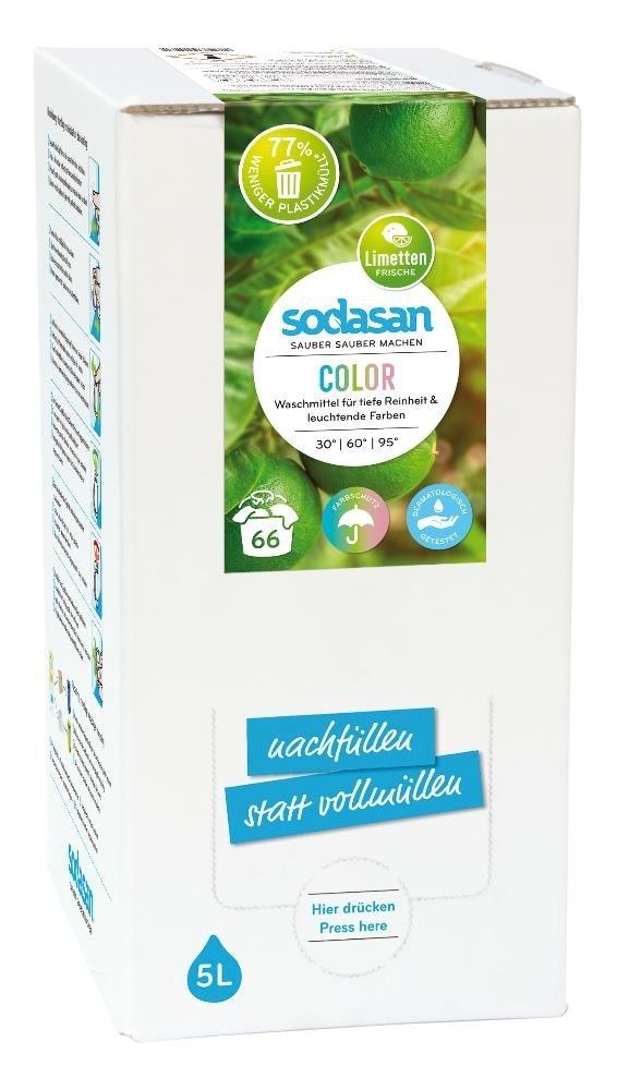 Sodasan Uniwersalny płyn do prania Color limonkowy 5l