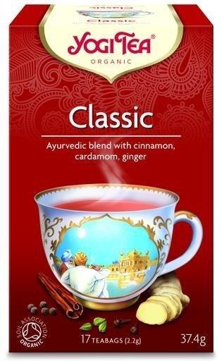 YOGI TEA Klasyczna herbata CYNAMONOWA (Classic Cinnamon Spice)