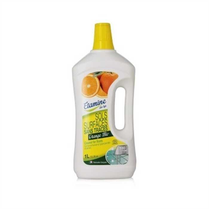 EDL Etamine Du Lys koncentrat do mycia podłóg i powierzchni użytkowych organiczna pomarańcza 1 l