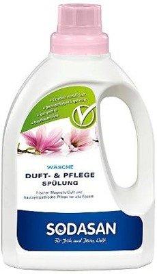 Sodasan - Płyn do płukania tkanin o zapachu magnolii 750 ml