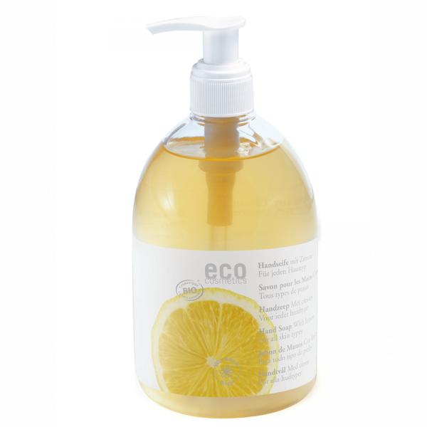 Eco cosmetics Mydło w płynie Z CYTRYNĄ  300 ml.