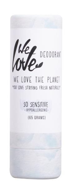 We Love the Planet Dezodorant w sztyfcie So Sensitiv 65 g