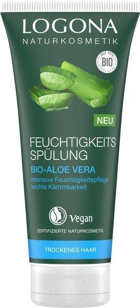 Logona Nawilżająca odżywka do włosów z bio-aloesem