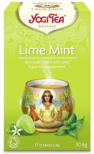 YOGI TEA Herbata LIMONKA z MIĘTĄ (Lime Mint)