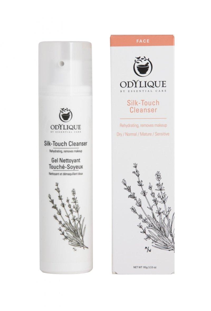 Odylique by Essential Care organiczne jedwabiste mleczko do oczyszczania i demakijażu twarzy, 95 g