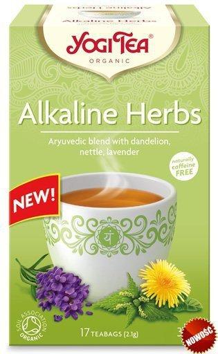 Yogi Tea Ajurwedyjska herbata Zioła alkaliczne ALKALINE HERBS
