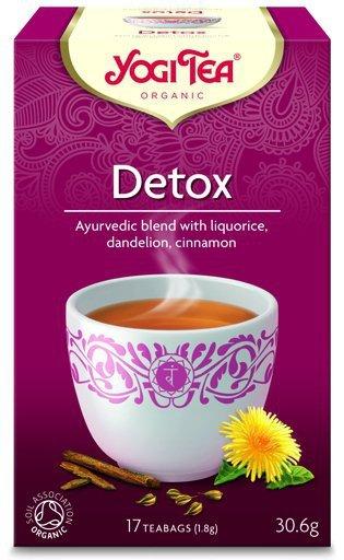YOGI TEA Herbata OCZYSZCZAJĄCA z lukrecją, mniszkiem i anyżem (Detox)