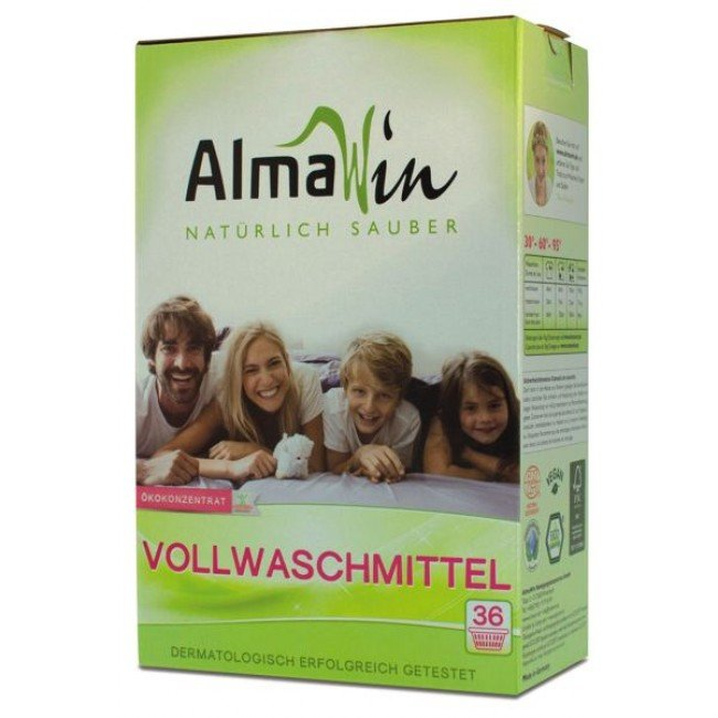 AlmaWin Proszek do prania uniwersalny, koncentrat 2 KG