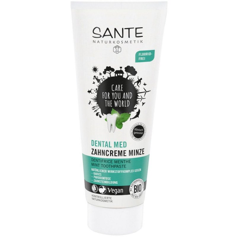 Sante Naturkosmetik Naturalna pasta do zębów mietowa