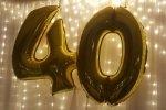 Balony cyfry 86 cm