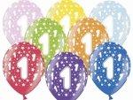 Balony z nadrukiem urodzinowym