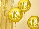 Balony okrągłe urodziny