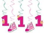 Świderki urodzinowe różowe dł. 60cm SWID10/R