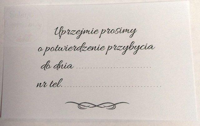 Kieliszki ślubne Zaproszenie Na I Komunię św Dla Babci I Dziadka