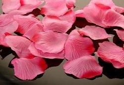 Płatki róż w woreczku różowe 500 szt