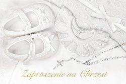 Zaproszenie na Chezst Święty - 1 szt