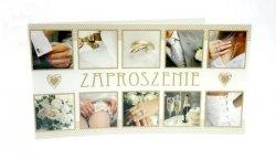 Zaproszenie  na  Ślub   - 1szt