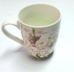 Kubek ceramiczny  375 ml  Kwiatowy + pudełeczko