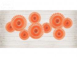 Rozety dekoracyjne brzoskwinia 20-30 cm