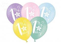 Balony My 1st bday - 30 cm