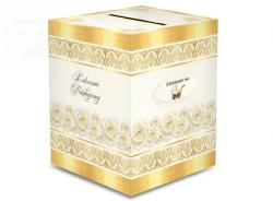 Pudełko Ślubne Zbieramy na Wóżek