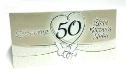 Zaproszenie  na 50 Rocznicę Ślubu - 1szt