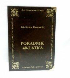 Książka Kasetka PORADNIK na 40 URODZINY